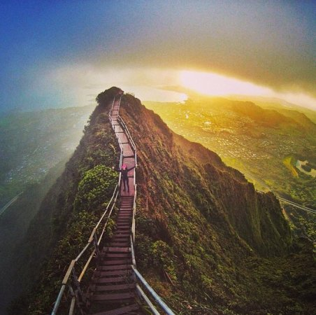 Stairway to heaven: illegaler Hike. Quelle: google